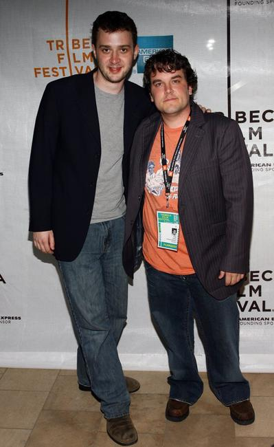 Eddie Kaye Thomas and Matt Oates at the premiere of