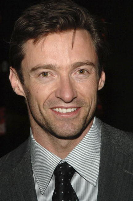Hugh Jackman hosting the Move For Aids US launch and exhibition.