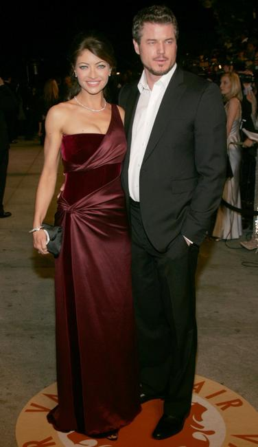 Rebecca Gayheart and Eric Dane at the 2007 Vanity Fair Oscar party.