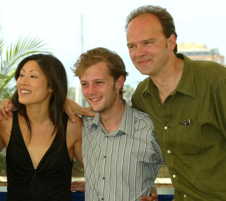 Mai Anh Le, Nicolas Duvauchelle and Jean-Pierre Ameris at the photocall of