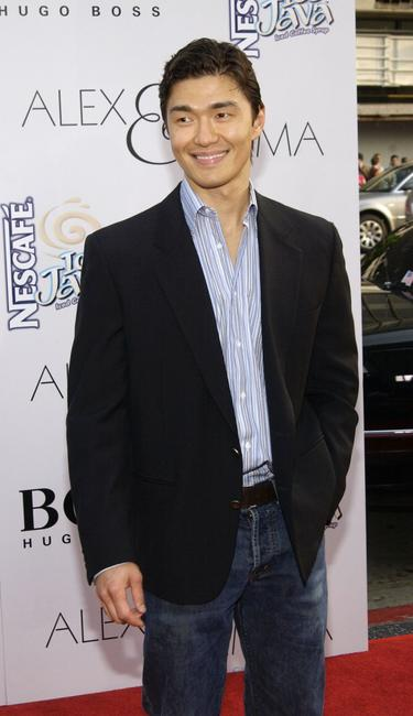 Rick Yune at the world premiere of