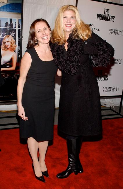 Molly Shannon and Kristen Johnston at the world premiere of