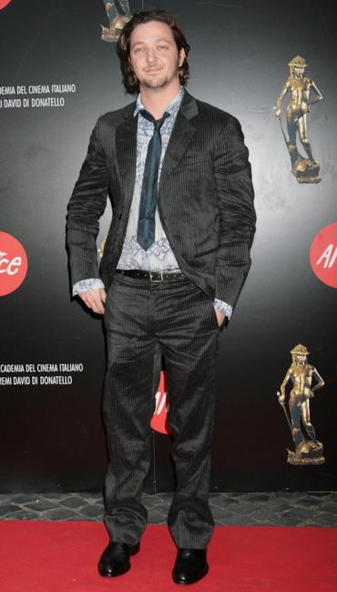 Silvio Muccino at the Italian Movie Awards