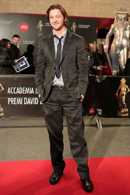Silvio Muccino at the David di Donatello Movie Awards.