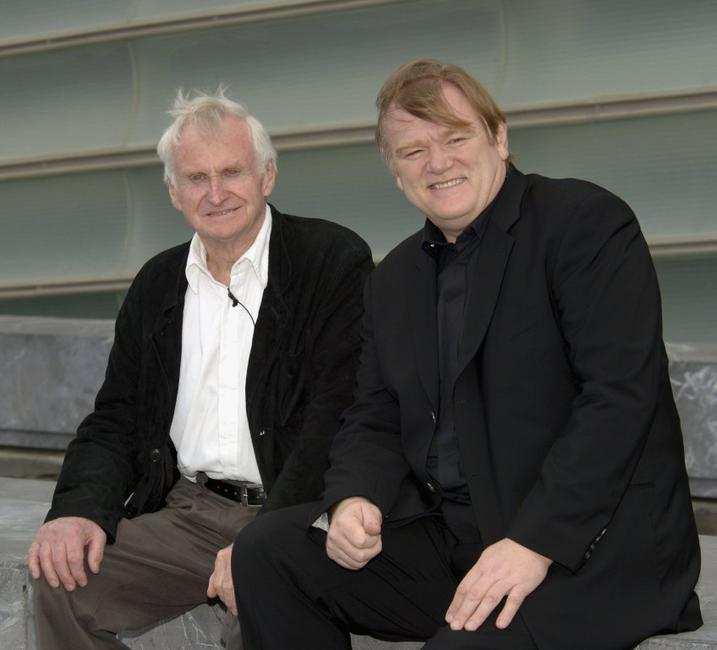 Brendan Gleeson and John Boorman at the photocall of