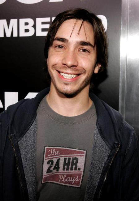 Justin Long at the Hollywood premiere of