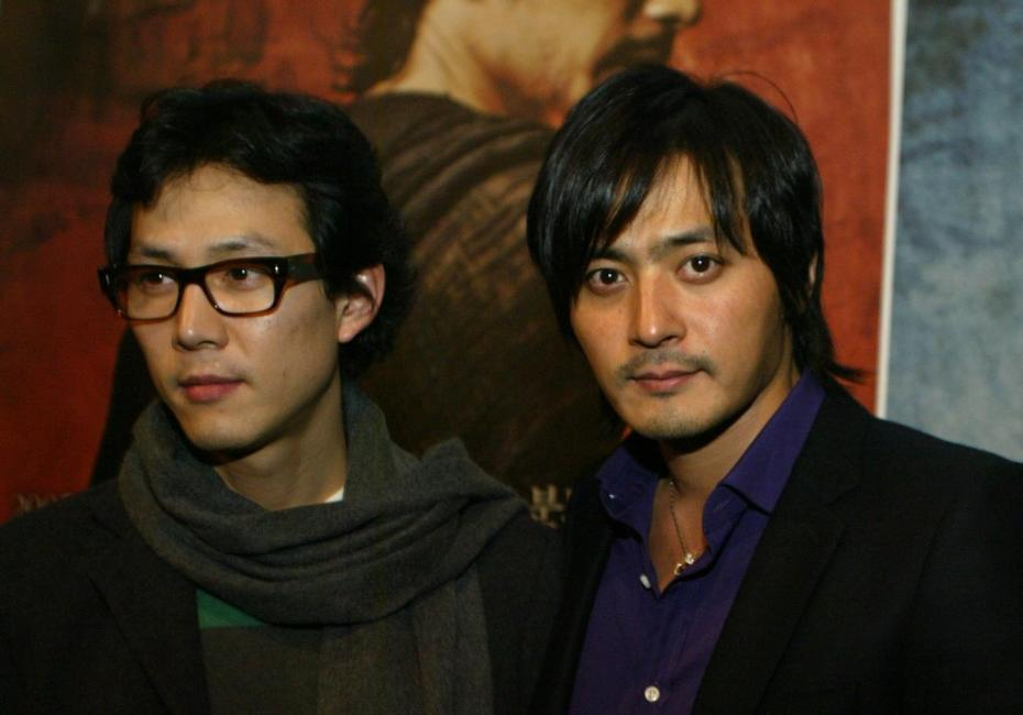 Lee Jung-Jae and Jang Dong-gun at the press conference of