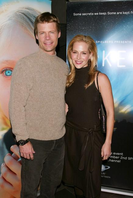Joel Gretsch and Julie Benz at the New York premiere of