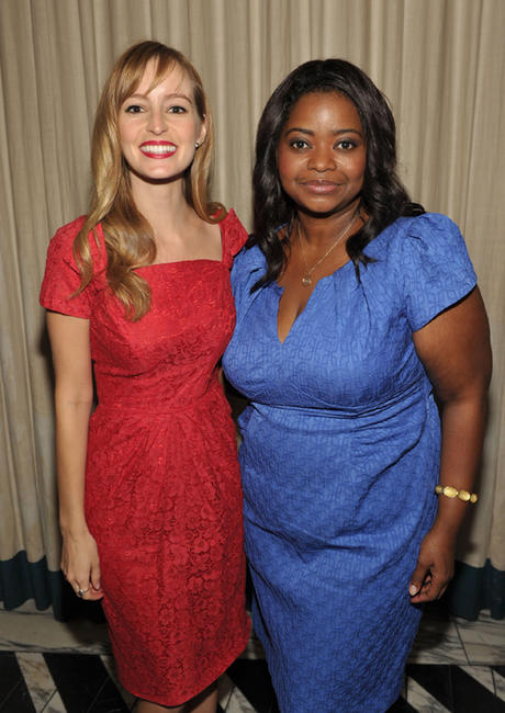 Ahna O'Reilly and Octavia L. Spencer at the Audi and David Yurman Kick Off Emmy Week 2011 and Support Tuesday's Children in California.