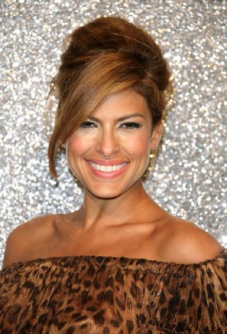 Eva Mendes at the Dolce and Gabbana Party during the 60th International Cannes Film Festival.