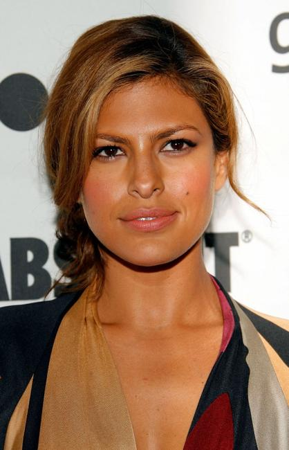Eva Mendes at the 18th Annual GLAAD Media Awards.