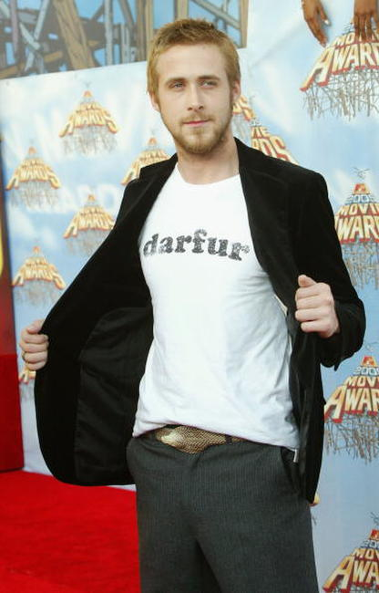 Ryan Gosling at the 2005 MTV Movie Awards in L.A.