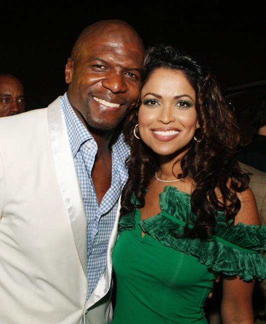 Terry Crews and Tracey Edmonds at the afterparty for the premiere of