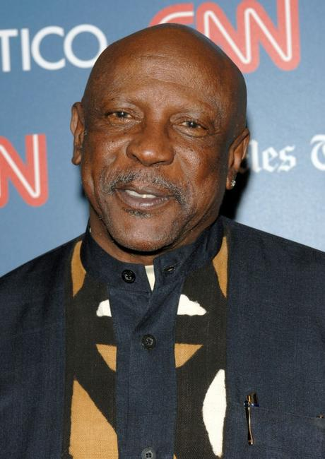 Louis Gossett, Jr. at the CNN, LA Times, POLITICO Democratic Debate.