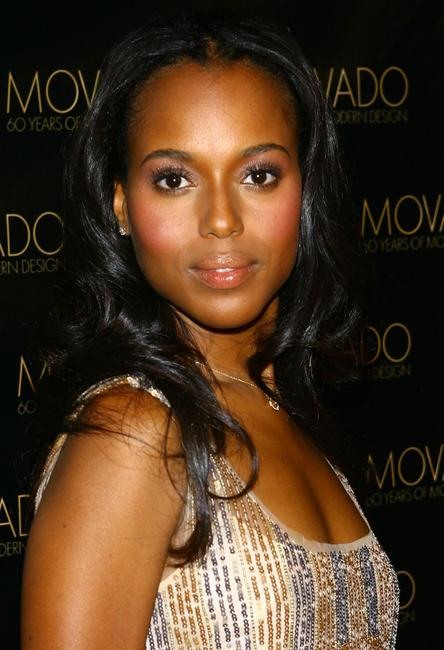 Kerry Washington at the celebration of Movados 60 years of modern design.
