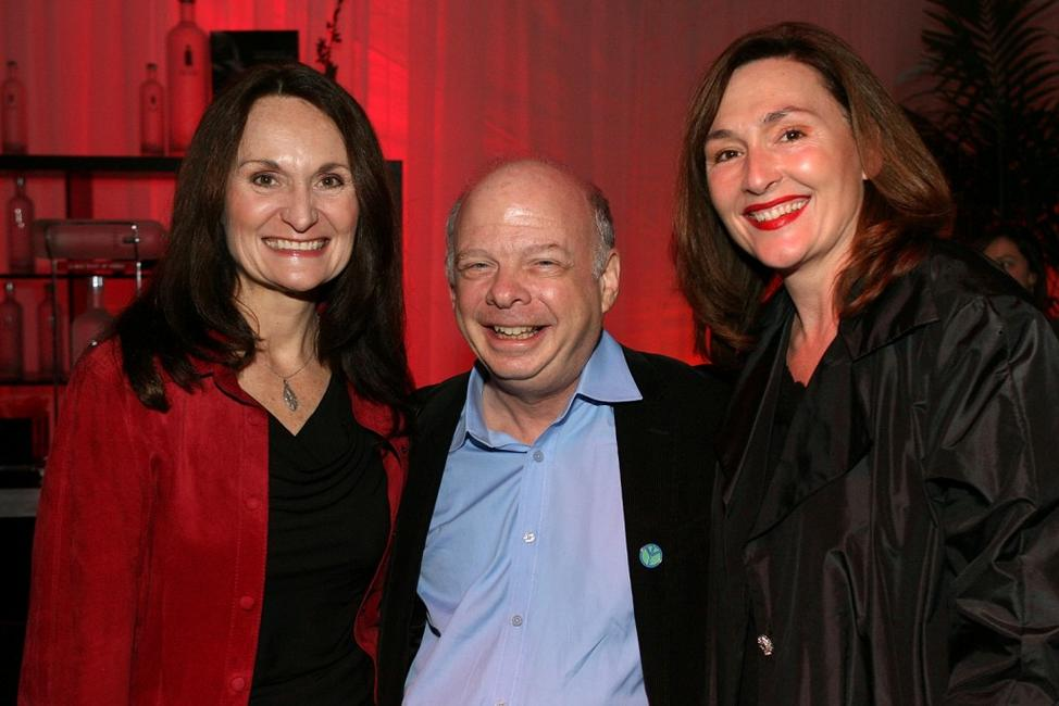 Beth Grant, Wallace Shawn and Nora Dunn at the Sundowners cocktail reception during the AFI FEST 2007.