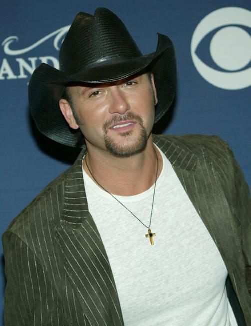Tim McGraw at the 39th Annual Country Music Awards.