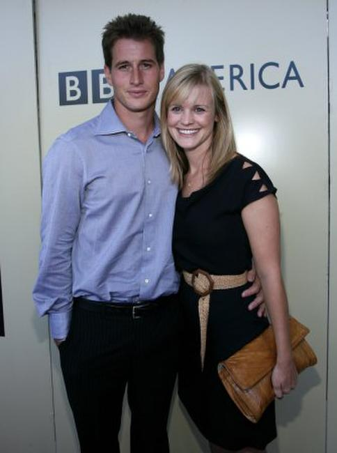 Brendan Fehr and wife Jennifer at the BAFTA/LA-Academy of Television Arts and Sciences Tea Party.