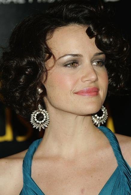 Carla Gugino at the premiere of