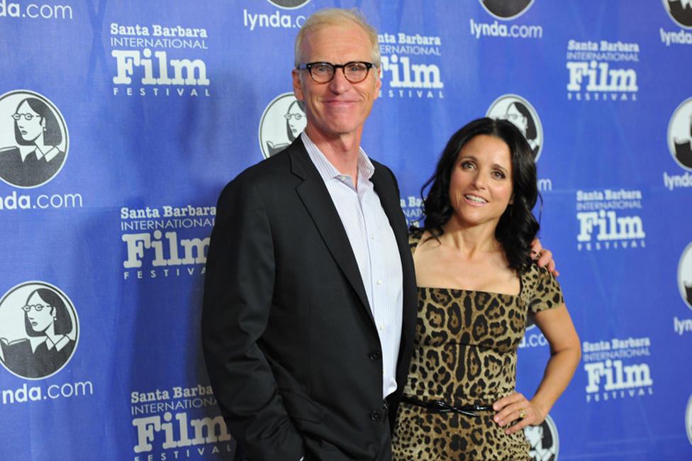 Brad Hall and Julia Louis-Dreyfus at the Santa Barbara International Film Festival's opening night premiere of