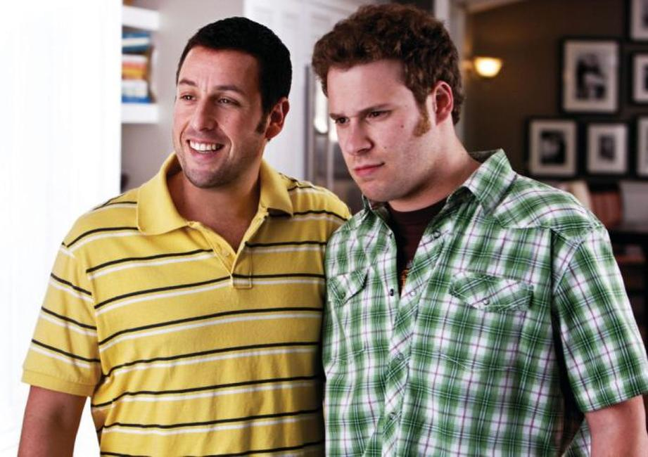Adam Sandler as George and Seth Rogen as Ira in
