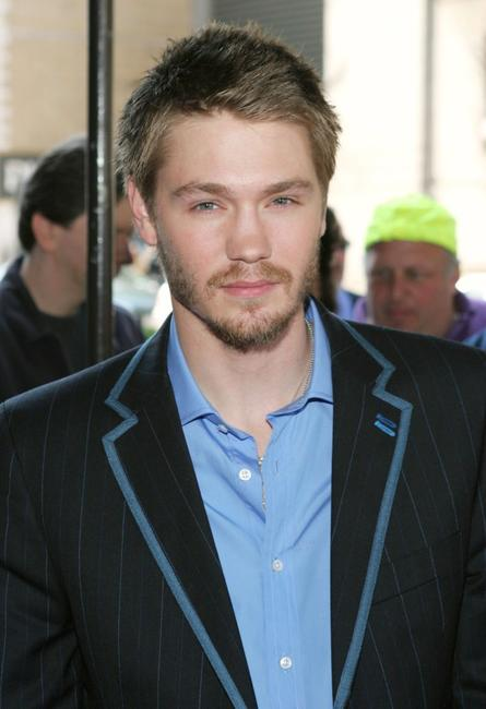 Chad Michael Murray at the WB Upfront.