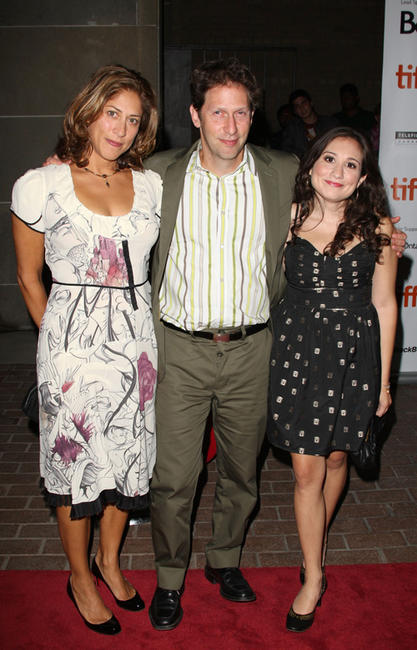 Lisa Benavides, director Tim Blake Nelson and Lucy DeVito at the screening of