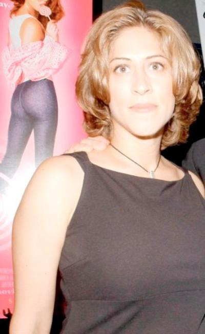 Lisa Benavides at the New York premiere of
