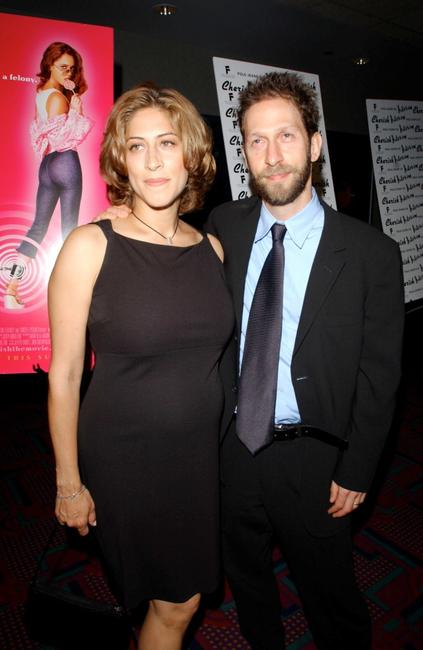 Lisa Benavides and Tim Blake Nelson at the New York premiere of