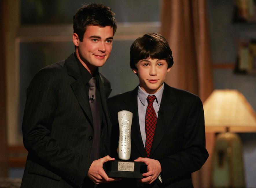 Matthew Long and Logan Lerman at the 6th Annual Family Television Awards.