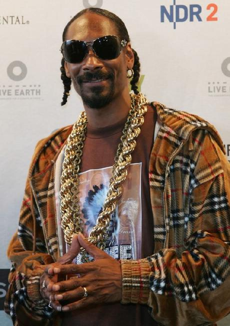 Snoop Dogg at the Hamburg Live Earth concert.