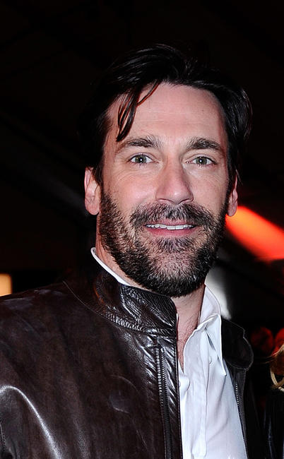 Jon Hamm at the 2011 Film Independent Spirit Awards.