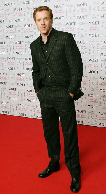 Damian Lewis at the Moet & Chandon Fashion Tribute award at biennial awards ceremony during the London Fashion Week Autumn/Winter 2005/6.