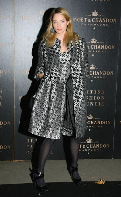 Sienna Guillory at the Moet and Chandon