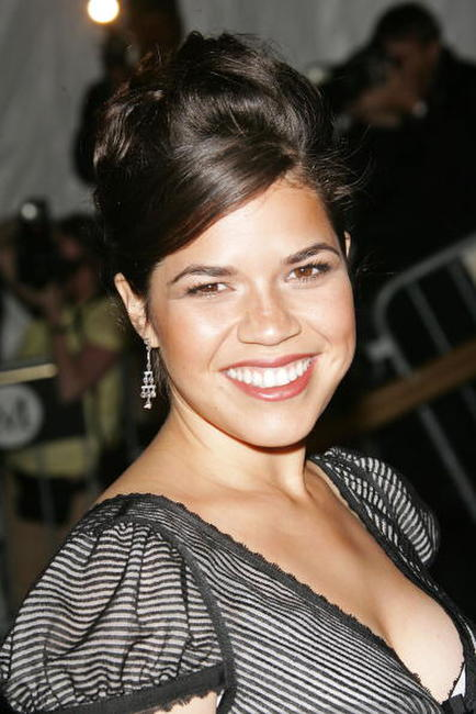 America Ferrera at the Metropolitan Museum of Art Costume Institute Benefit Gala in New York City.