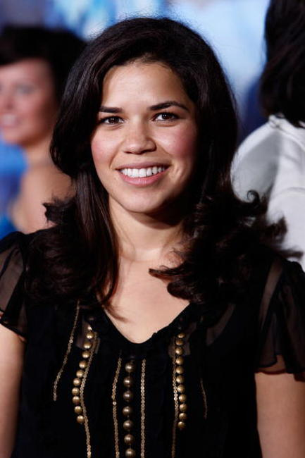 America Ferrera at the L.A. premiere of