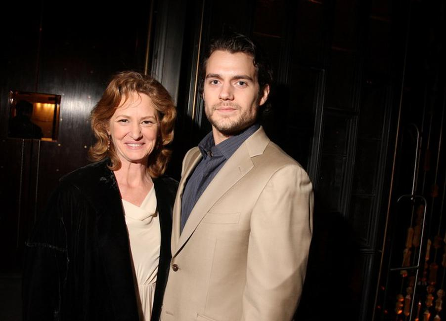 Melissa Leo and Henry Cavill at the after party of the premiere of