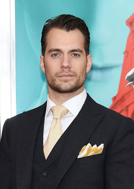 Henry Cavill at the New York premiere of