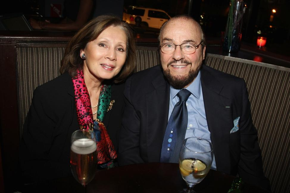 Kedakai Lipton and James Lipton at the Bipartisan Election Night Party.