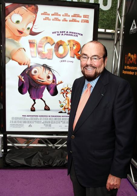 James Lipton at the premiere of