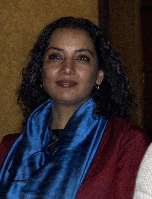 Shabana Azmi at the conference as part of a United Nations Children's Fund (UNICEF).