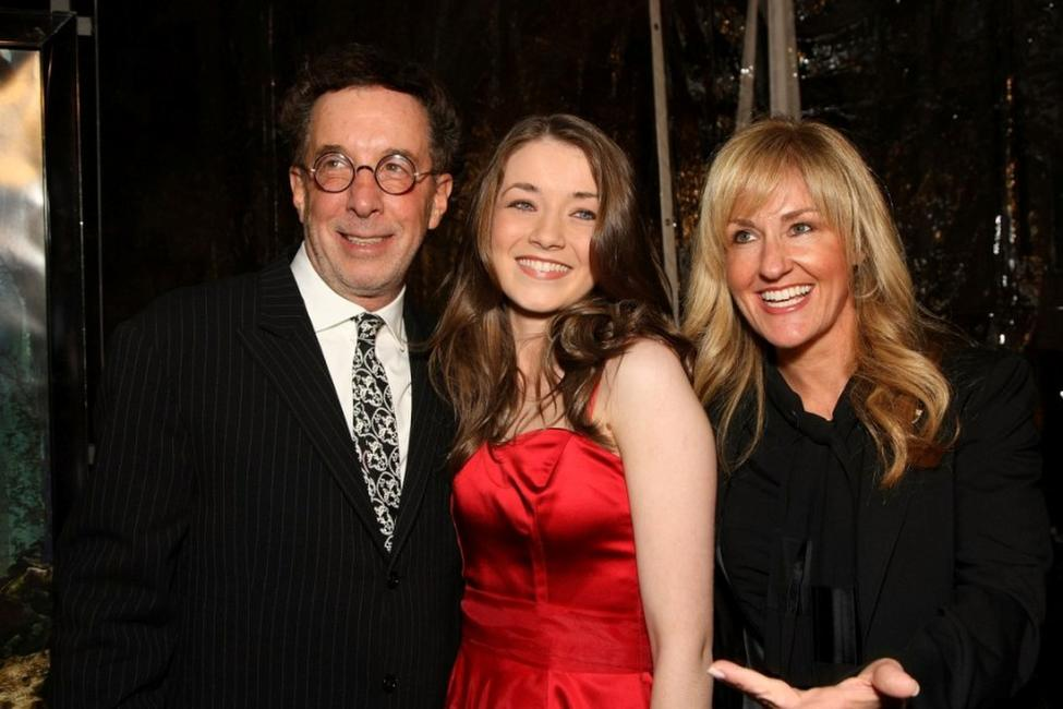 Producer Mark Canton, Sarah Bolger and Ellen Goldsmith-Vein at the premiere of