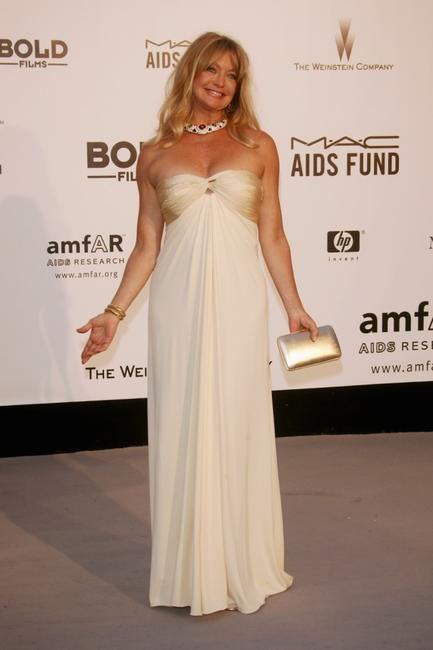 Goldie Hawn at the Cinema Against Aids 2007 in aid of amfAR at Le Moulin de Mougins.