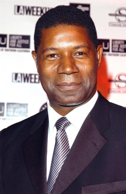 Dennis Haysbert at the Oscar Night Benefit Party for Amnesty International and the ACLU Foundation.