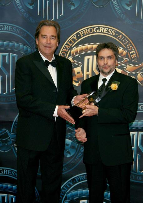 Beau Bridges and David Moxness at the 21st Annual ASC Achievement Awards.