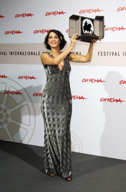 Donatella Finocchiaro at the Rome Film Festival.