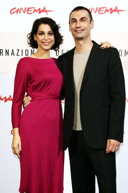 Donatella Finocchiaro and Fabrizio Gifuni at the photocall of