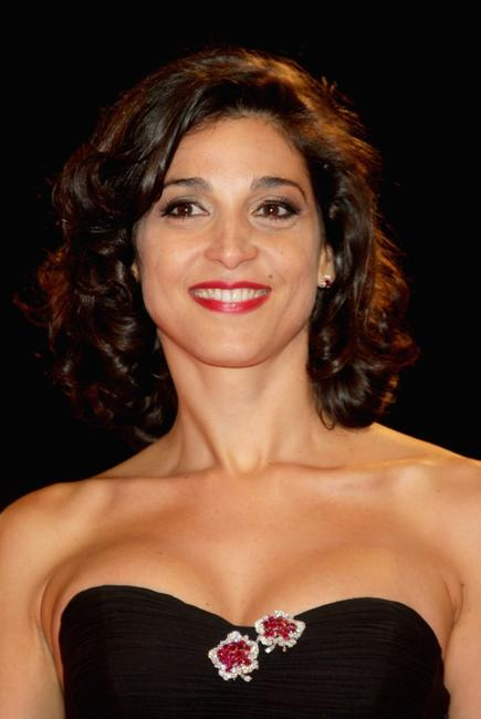 Donatella Finocchiaro at the premiere of