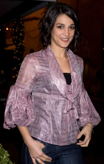 Donatella Finocchiaro at the 1528 Limited Edition perfume cocktail party.