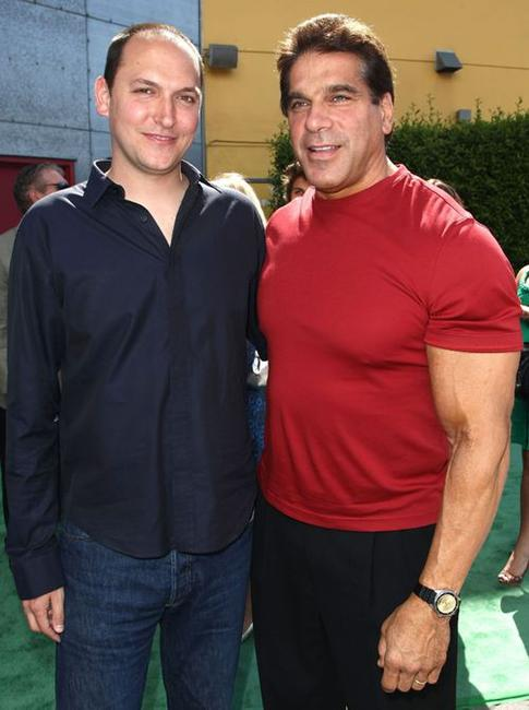 Louis Leterrier and Lou Ferrigno at the premiere of